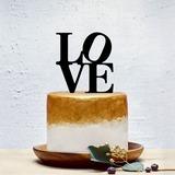 Сладкая любовь/любовь дизайна акрил Фигурки для торта (119201363)
