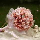 девчушки Круглый атласная Свадебные букеты (124032064)