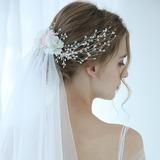 Klassische Art Perlen Haarnadeln/Kämme und Haarspangen mit Venezianischen Perle (3-er Set) (042192945)