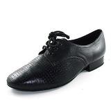 Dos homens Couro verdadeiro Sem salto Salão de Baile com Aplicação de renda Sapatos de dança (053013036)