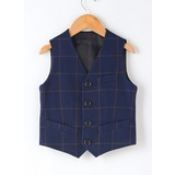 Boys Plaid Ring Bearer Suits (287203037)