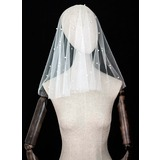 Two-tier Cut Edge Shoulder Veils (006183273)