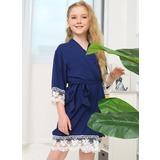 Flower Girl Girl Robes (248178698)
