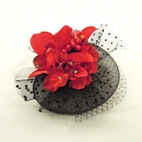Elegant Imitatie Parel/Netto garen Fascinators (042026146)