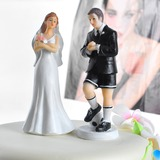 Sporten Paar Hars Huwelijk Taarttoppers (122036153)