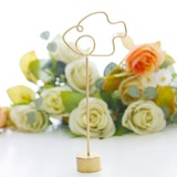 Golden Christmas Place card Holder Party Decoration (Sold in a single piece) (051193805)