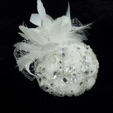 Stijlvol Strass/Imitatie Parel/Feather/Kant Fascinators (042026316)