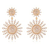 Ladies' Classic Crystal Earrings For Bride/For Bridesmaid/For Friends (011208480)