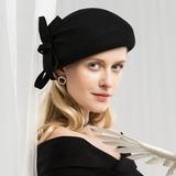 женские Гламурный/восхитительно Шерстяные Шляпа Берет (196178758)