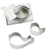 Bonito Animal Pássaros Adoráveis Metal Bolo e Cookie Cutter Mold (Conjunto de 2 peças) (051198519)