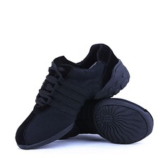 Мужская Холст Танцевальные кроссовки Танцевальные кроссовки Обувь для танцев (053018515)