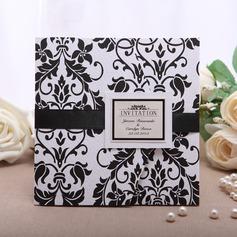 Персонализированные цветочный Стиль Wrap & Pocket Invitation Cards (набор из 50) (114054989)