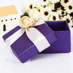 Clásico Cuboidea Cajas de regalos con Flores (Juego de 12) (050039706)