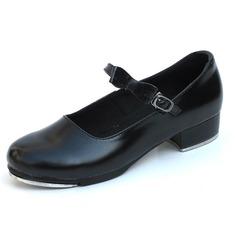 De mujer Piel Tacones Tap con Hebilla Zapatos de danza (053041958)