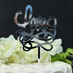 любовь дизайна акрил Фигурки для торта (119156993)