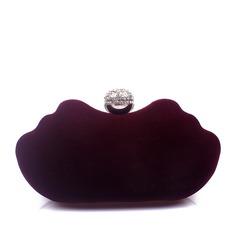Elegante Camurça Embreagens (012143317)