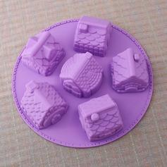 милый дом образный Силикон прессформа торта (051053249)