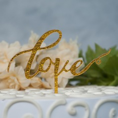 Любовь сладкий акрил Фигурки для торта (119157002)