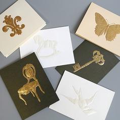 современный стиль/цветочный Стиль Боковой складкой поздравительные открытки/Спасибо карты/Поздравительные открытки (114205169)