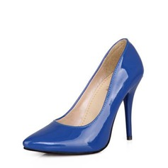 Frauen Lackleder Stöckel Absatz Absatzschuhe Geschlossene Zehe mit Andere Schuhe (085146825)