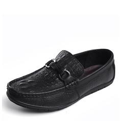 Мужская натуральня кожа Лошадь Мокасины вскользь Men's Loafers (260187154)