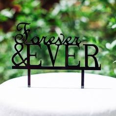 Forever & OOIT Acryl Huwelijk Taarttoppers (119064654)