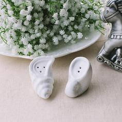 раковины Дизайн керамика соль и перец шейкеры (Набор из 2 штук) (051051222)