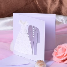 Bride & Groom Stile Side Fold Invitation Cards (Set di 50) (114033294)