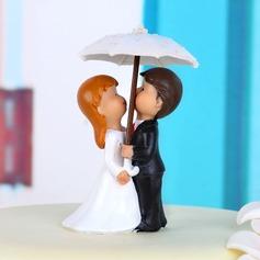 Momento romântico Resina Casamento Decorações de bolos (119038316)