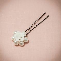 великолепный/прекрасный Перлы ложный/Полимерная глина заколки (Продается в виде единой детали) (042067980)