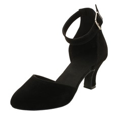 Women's Suede Ballroom Dance Shoes (053121923)