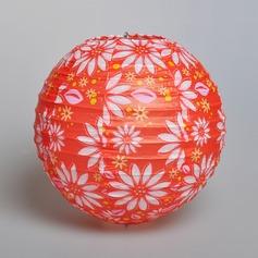 свечу фонарем Бумага Многоцветный/Круглый Фонарь Свадебный декор (131075190)