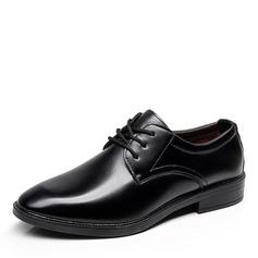Мужская кожа Cap Toes шнуровка Платья Men's Oxfords (259173590)