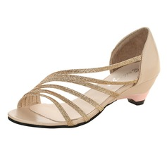 Vrouwen Kunstleer Chunky Heel Pumps (047109024)