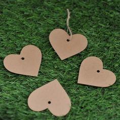в форме сердца крафт-бумаги Тэги (набор из 50) (051074059)
