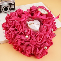Lovely Ring Pillow in Soap Flower With Ribbons/Flowers (103093272)
