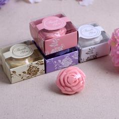 Adorável Rosa Sabonetes com Impressão (051089968)