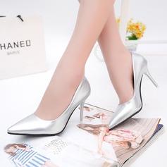 Femmes PU Talon stiletto Escarpins Bout fermé avec Autres chaussures (085137029)