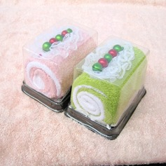 Cake Shaped Towel Marriage Return Gift(Sold in a single piece) (129156606)