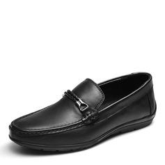 Мужская натуральня кожа U-Tip Лошадь Мокасины вскользь Men's Loafers (260187172)