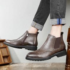 Мужская натуральня кожа Chukka вскользь Men's Boots (261171667)