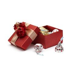 Clásico Cuboidea Cajas de regalos con Flores (Juego de 12) (050039699)