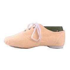 Женщины Холст На плокой подошве Джаз Обувь для танцев (053076376)