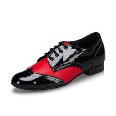 Мужская кожа На каблуках На каблуках Латино Бальные танцы качать Практика Обувь для танцев (053075250)