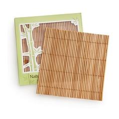 бамбук Сувениры для чаепития с рафия (набор из 4) (051145140)