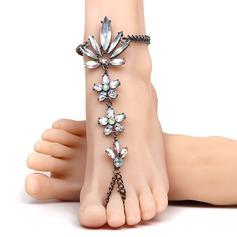Rhinestone Alloy Foot Smykker (Selges i ett stykke) (107122448)