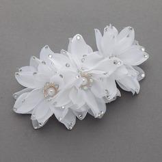 простой Искусственного шелка Цветы и перья (042058934)