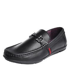 Мужская натуральня кожа U-Tip вскользь Men's Loafers (260187162)