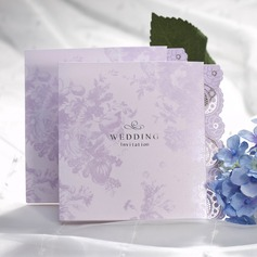 Style Florale Pli en acordéon Invitation Cards (Lot de 50) (118042241)