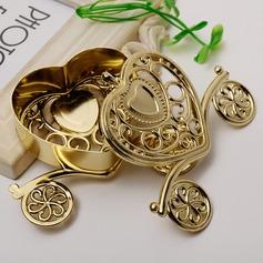 типа сердца В форме сердца пластиковые Фавор коробки и контейнеры/Горшки и банки для конфет (набор из 12) (050168341)